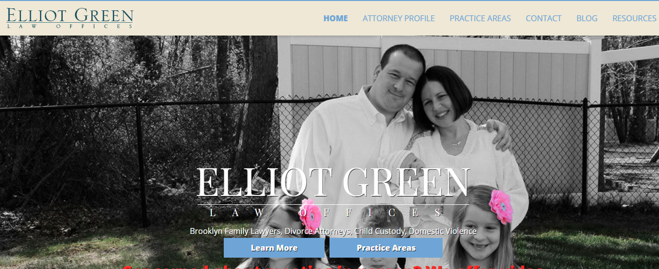 elliot green family lawyer in nyc