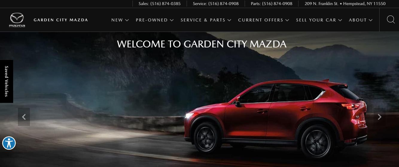 garden city mazda dealer in new york