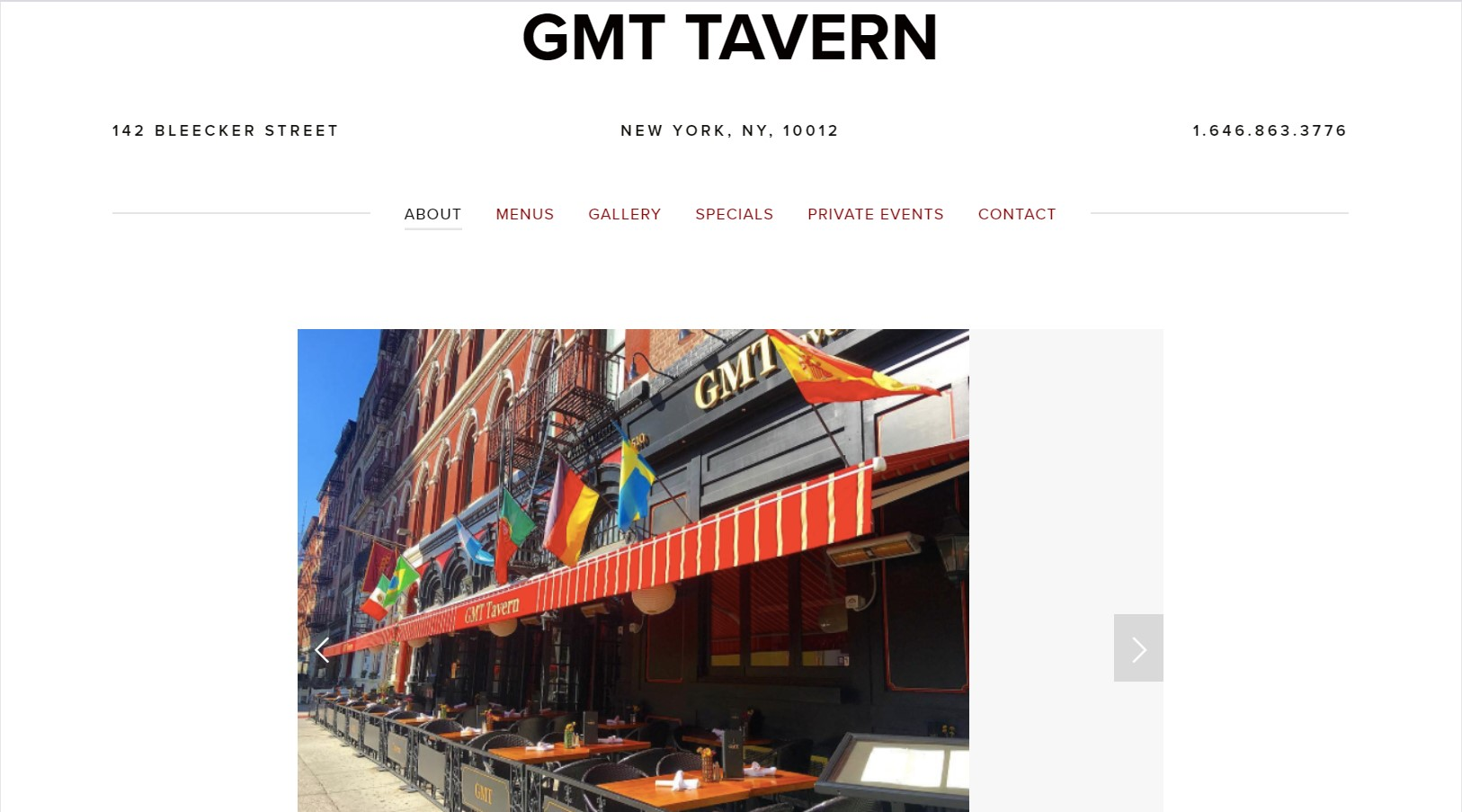 gmt pub in new york