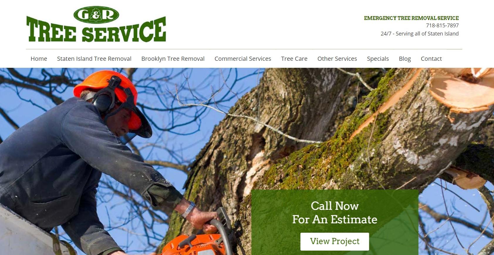 g&r tree service in new york