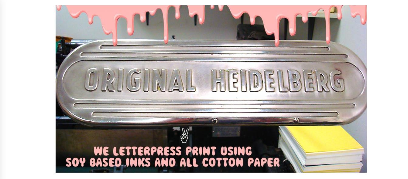 greenwich letterpress stationery