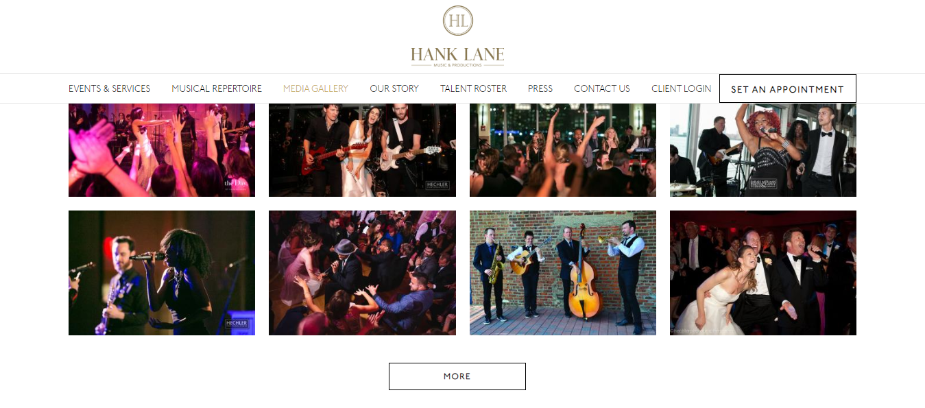 hank lane band agency in new york