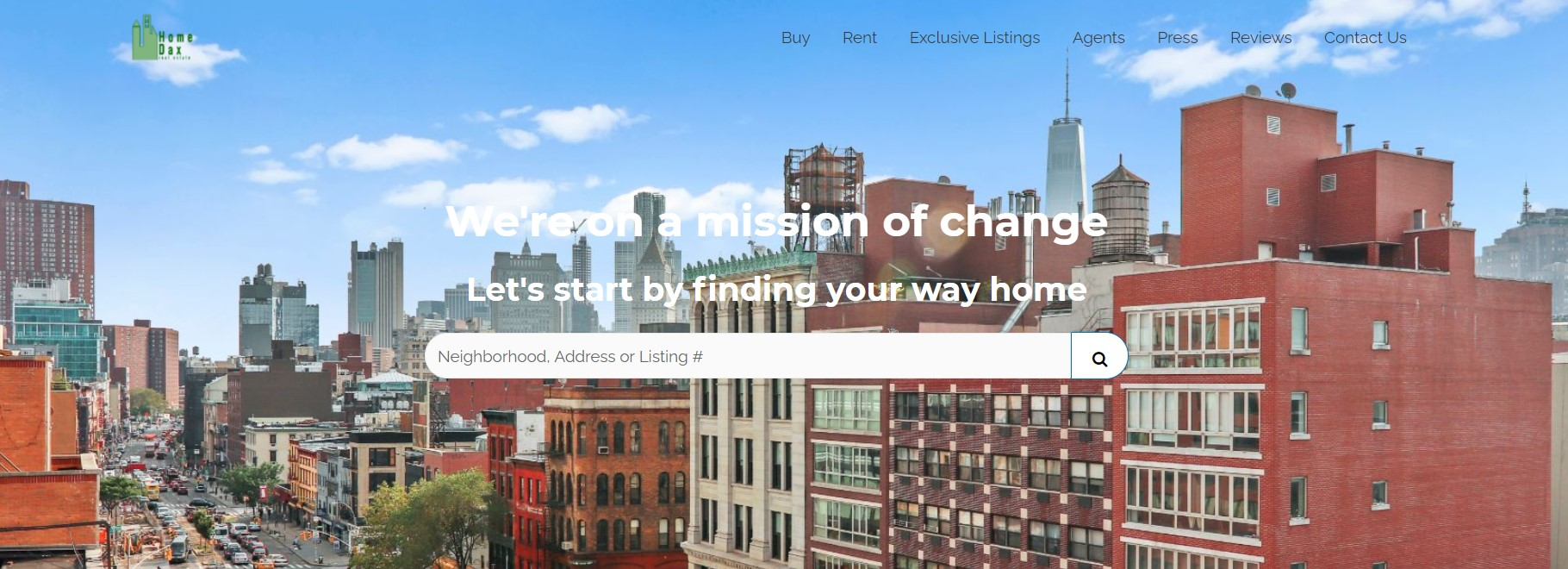 homedax real estate agent in new york