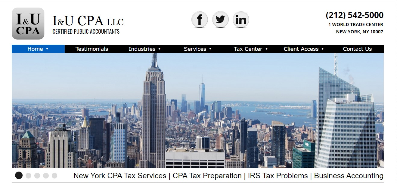 i&u cpa firm in new york