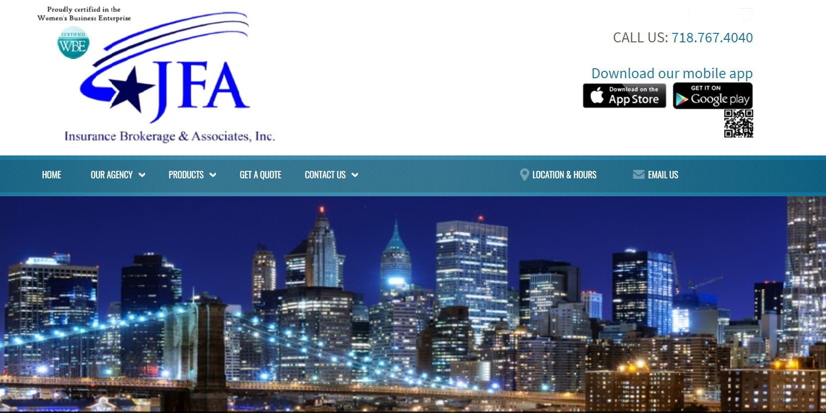 jfa insurance broker in new york