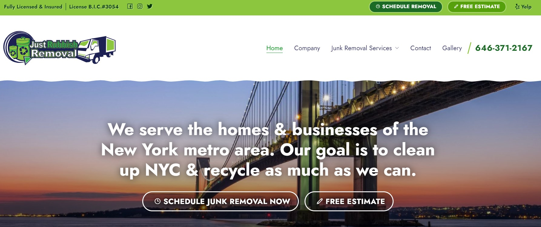just rubbish removal in new york