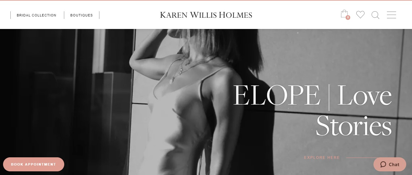 Karen Willis Holmes bridal shop
