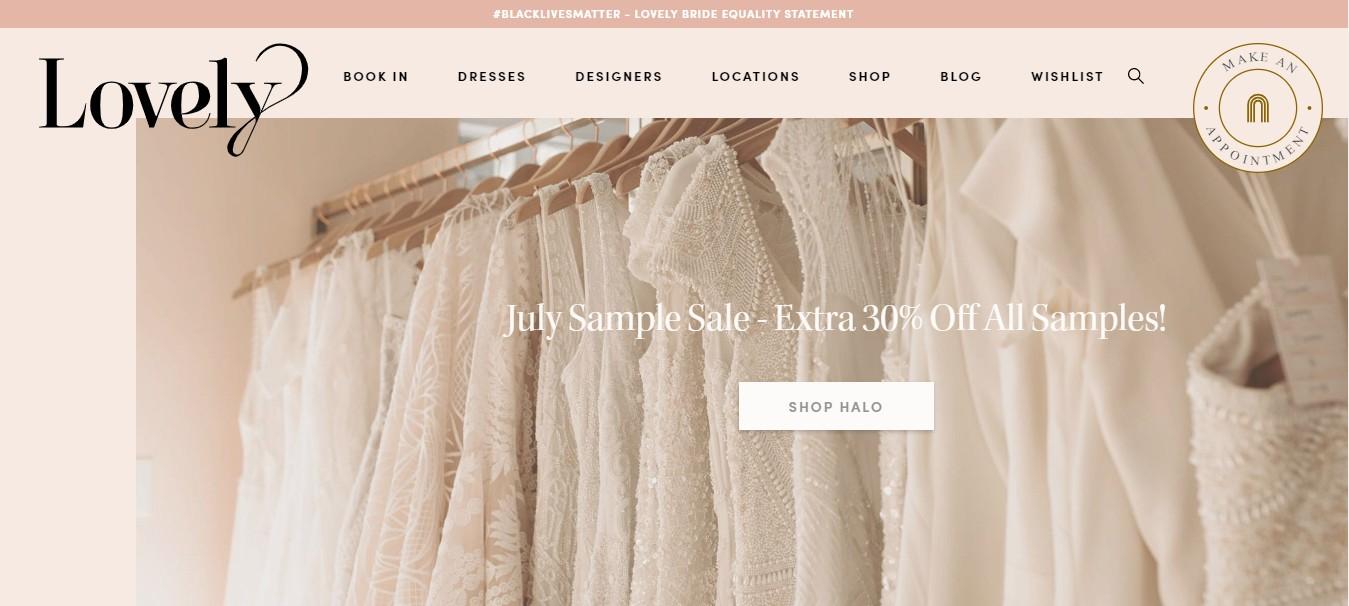 best bridal shops
