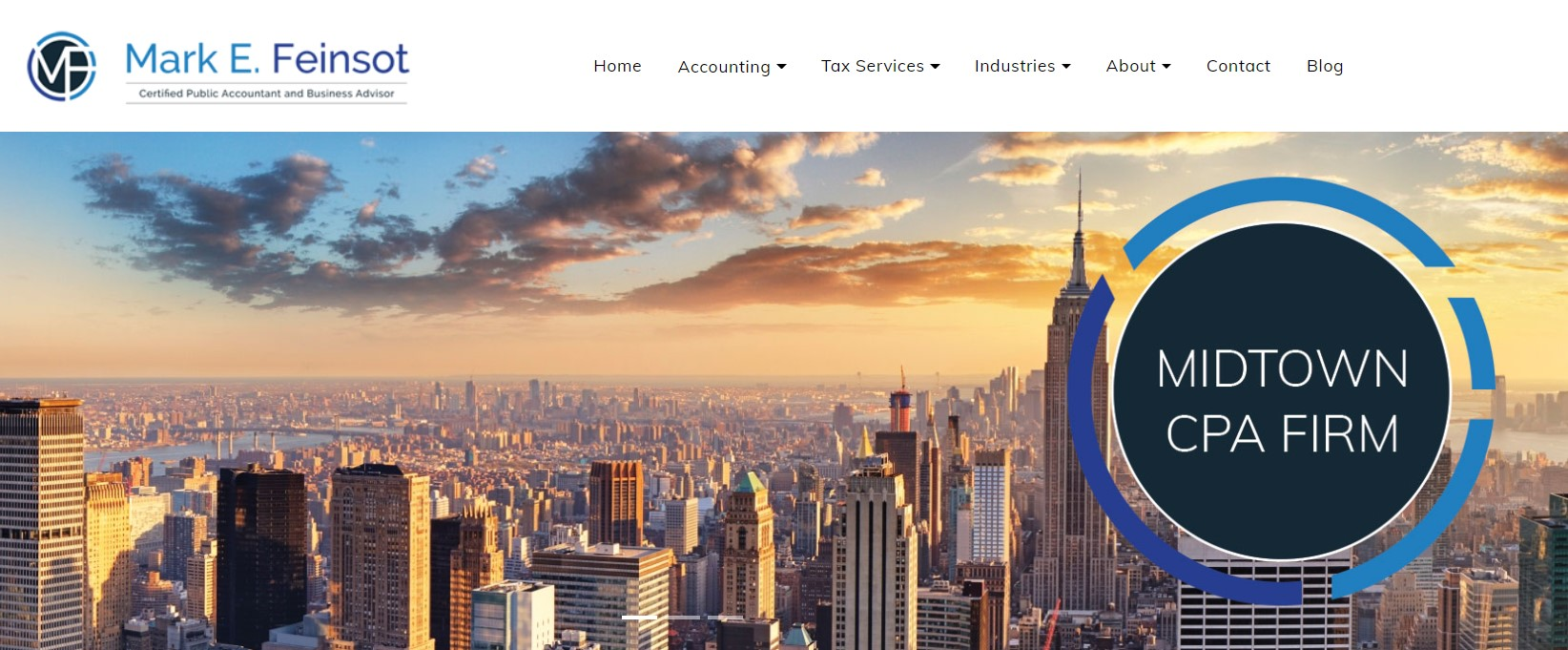 mark feinsot accountant in new york