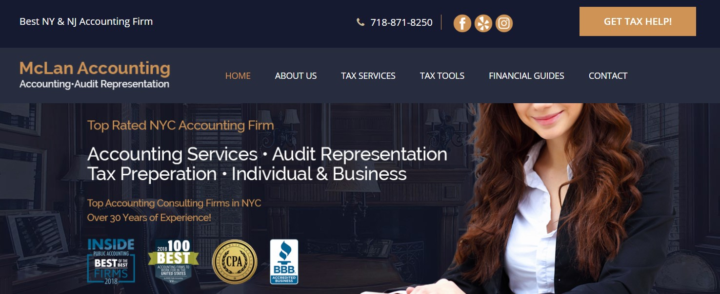 mclan accountant in new york