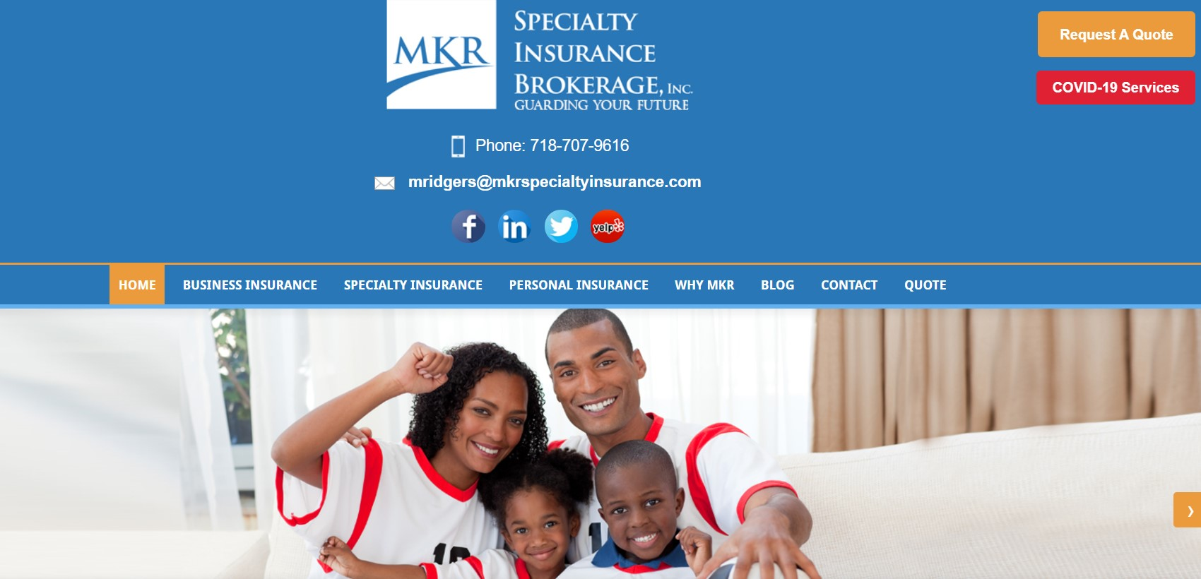 mkr insurance broker in new york