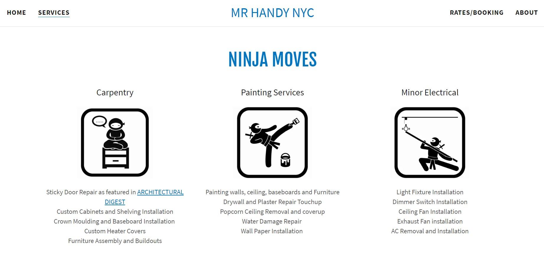 mr handy handyman in new york