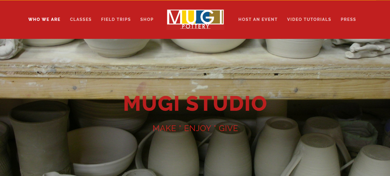 pottery class in new york mugi