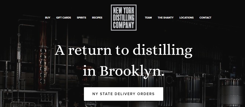 new york distilling
