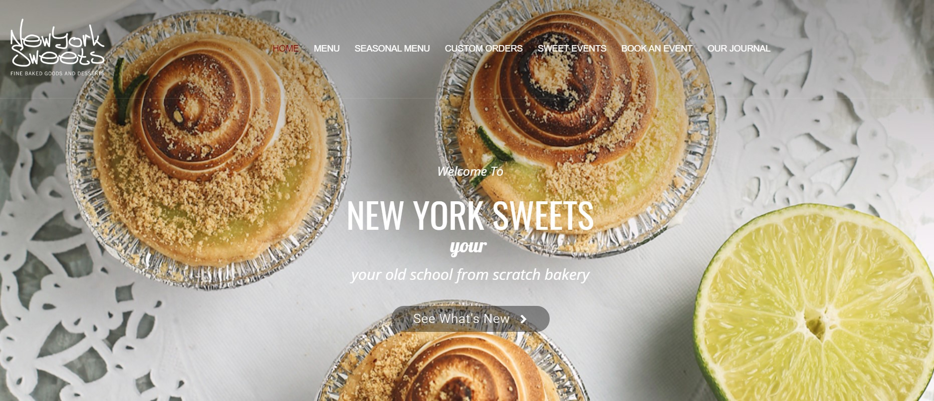 new york sweets bakery in new york