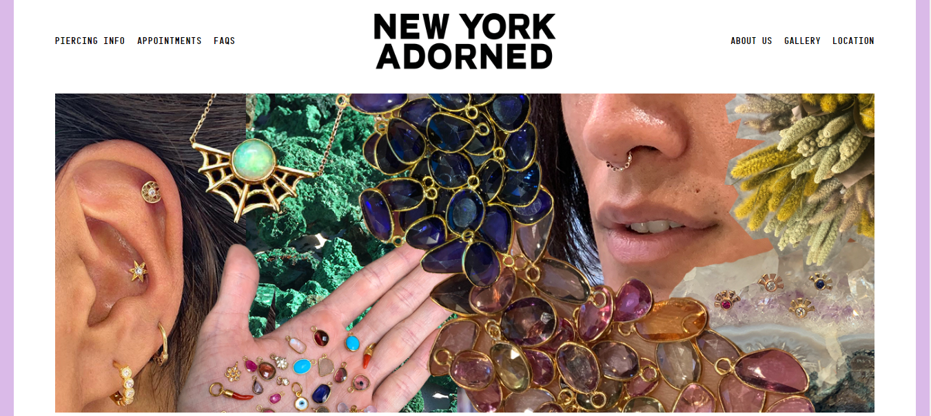 new york adorned piercing shop