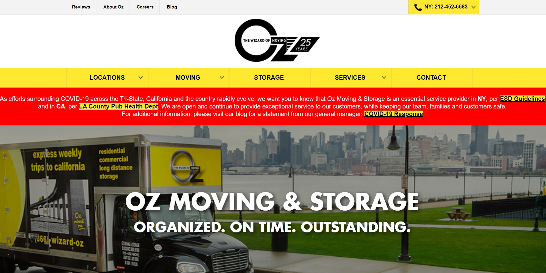 oz removalist in new york