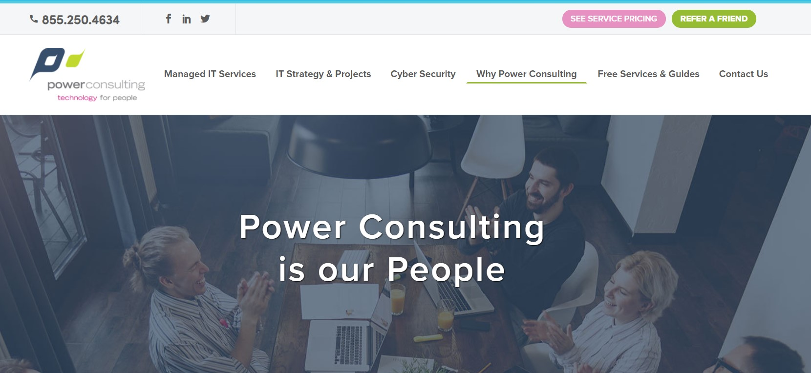 power consulting it support in new york