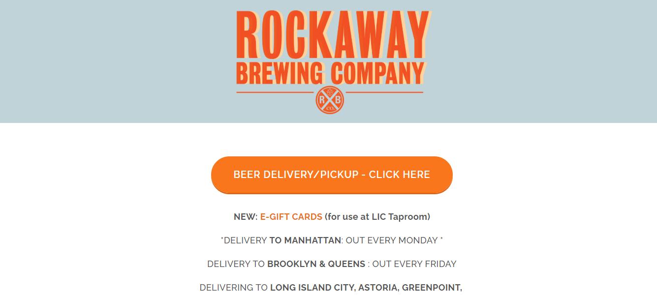 rockaway best brewery in new york