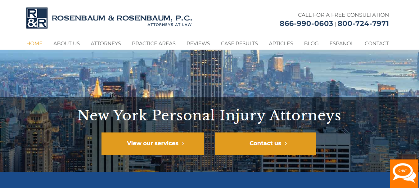 best personal injury attorneys in new york