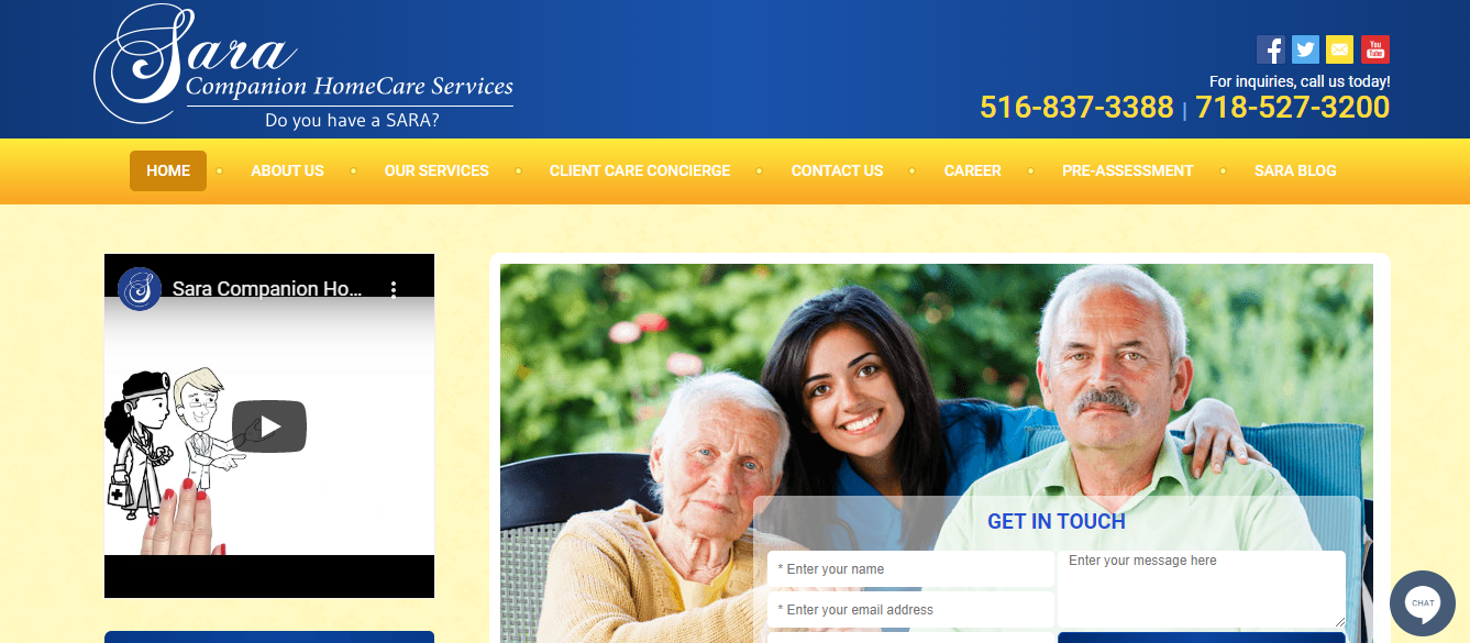 best aged care homes in new york