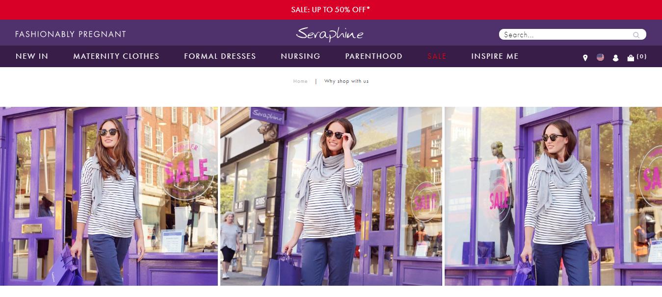 best maternity shops new york seraphine