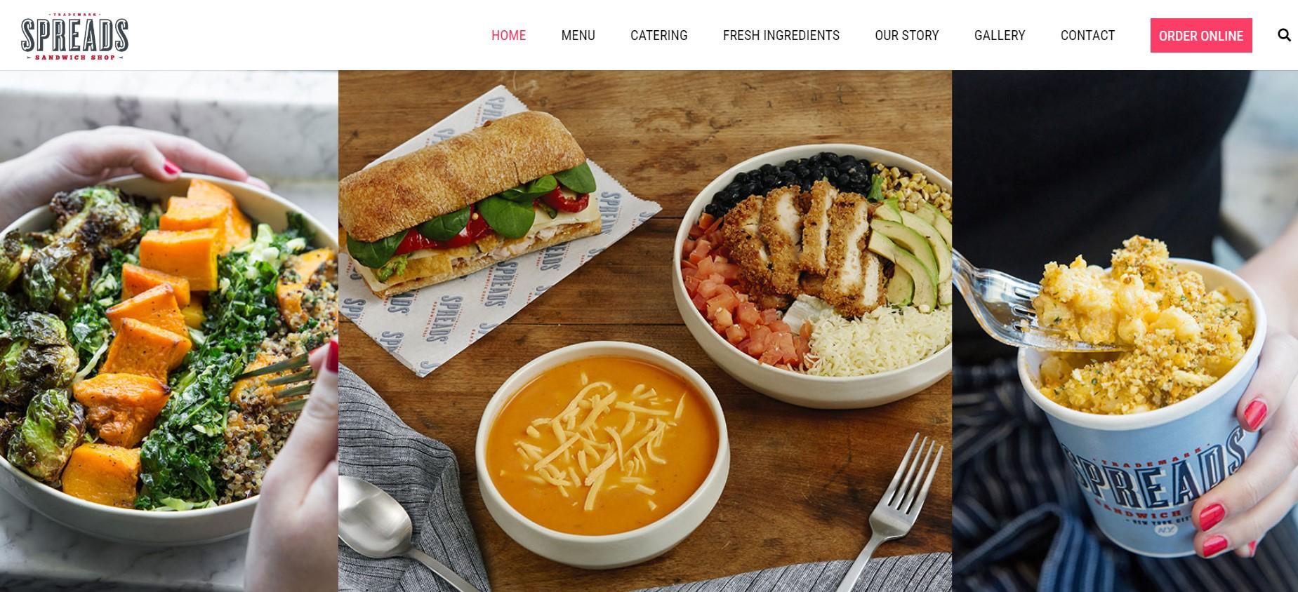 spreads sandwich shop in new york