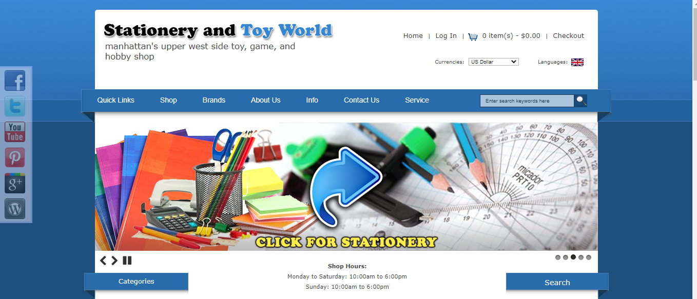 stationery and toys world nyc