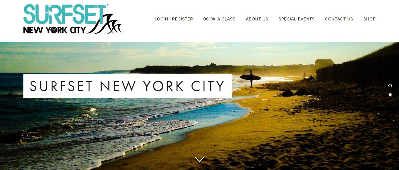 surfset exercise class in new york