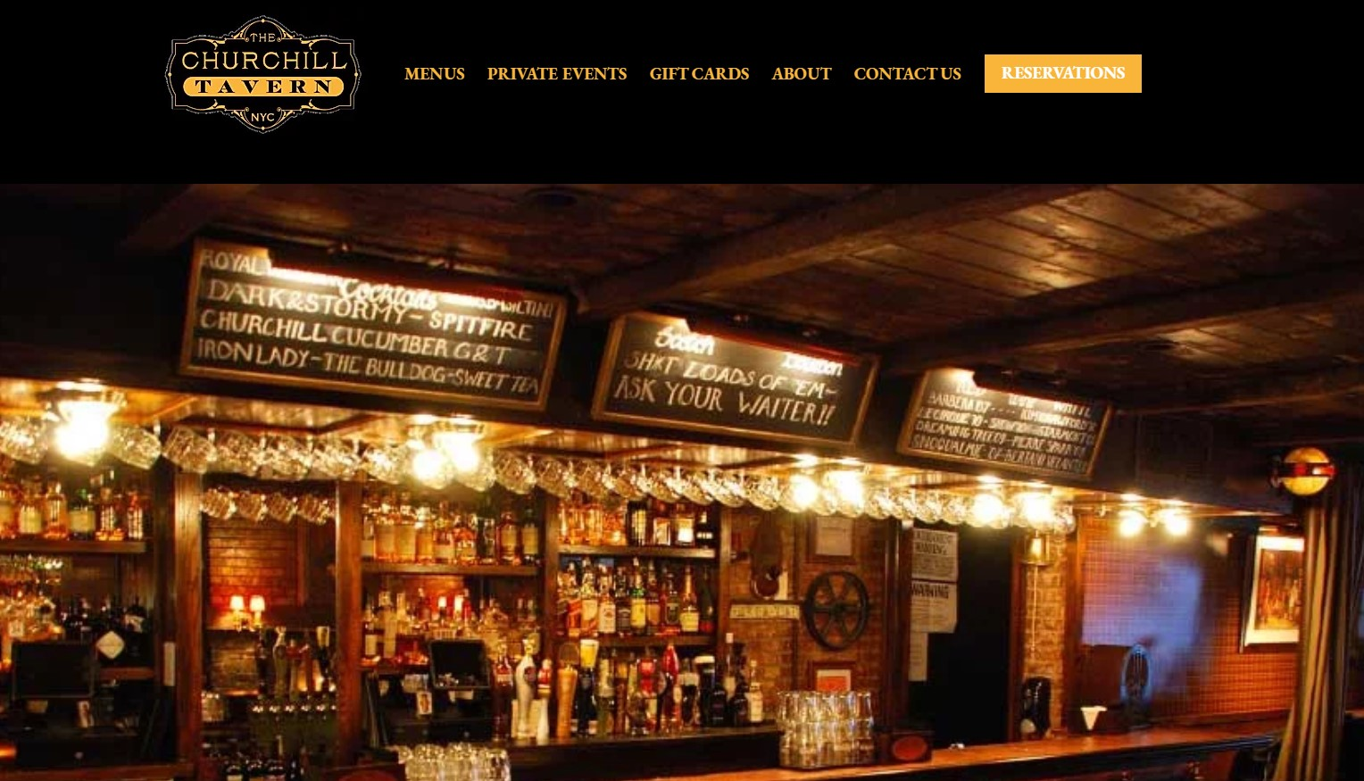 the churchill pub in new york