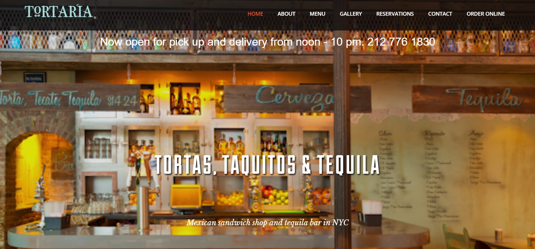 tortaria mexican restaurant in new york