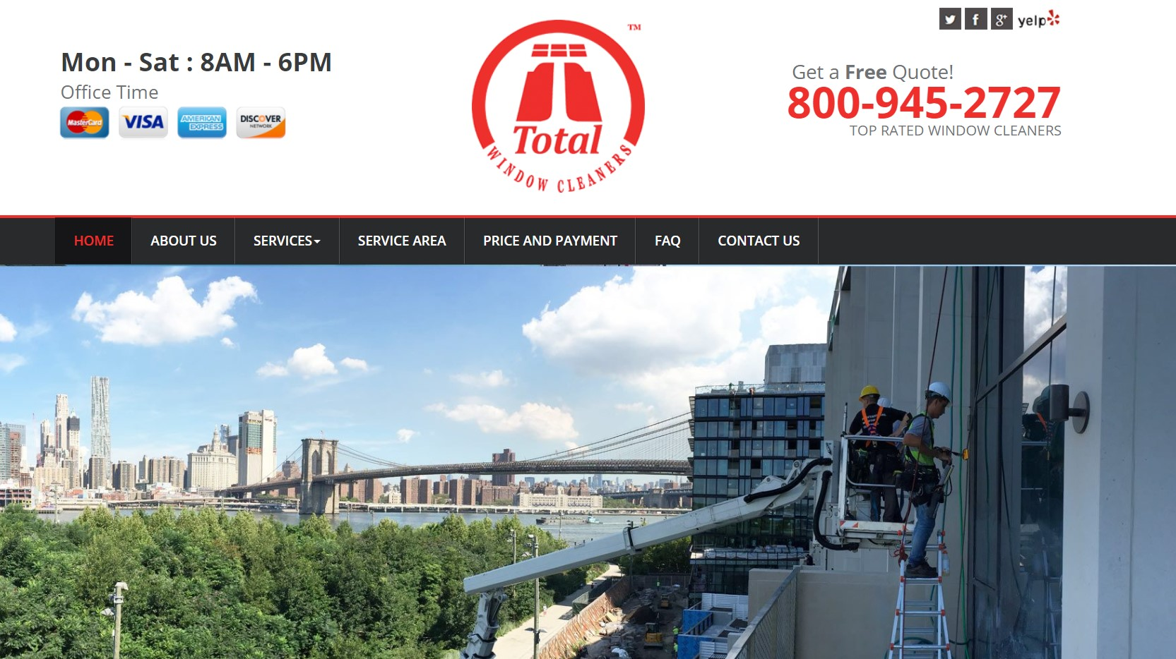 total window cleaner in new york