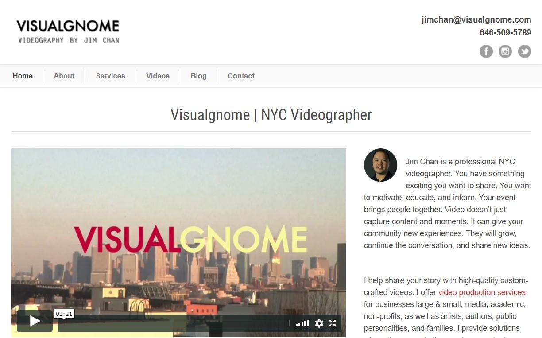 visualgnome videographer in new york