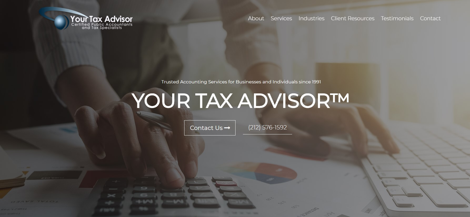 your tax advisor cpa firm in new york