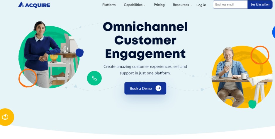 Acquire - omnichannel software