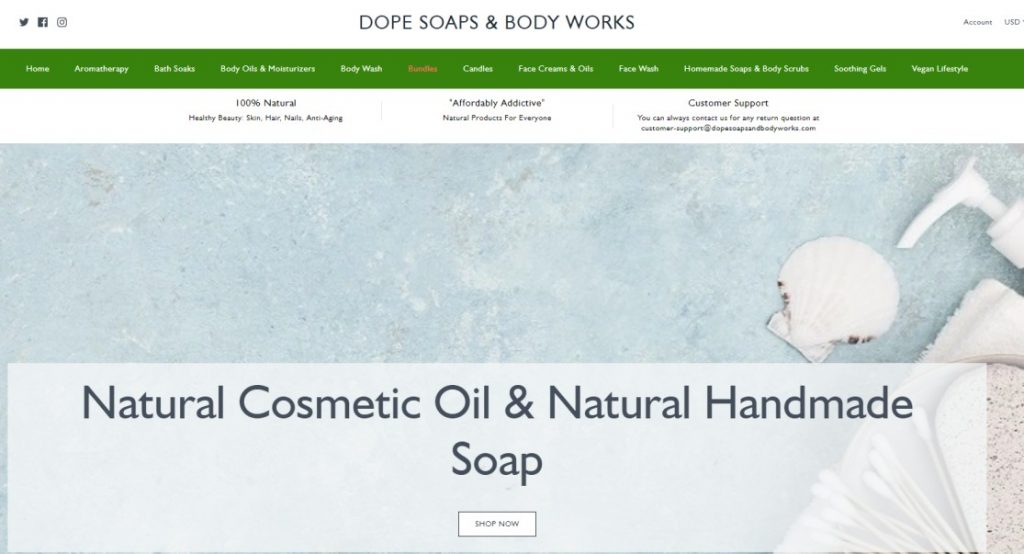 Dope Soaps and Body Works