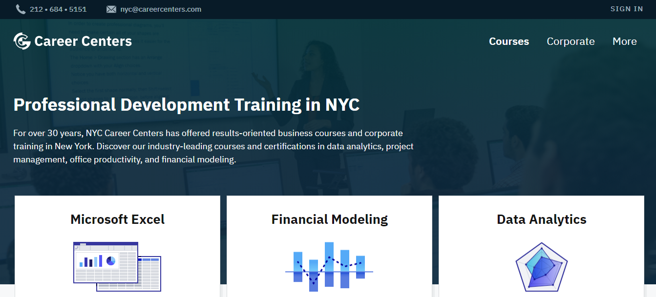 Best Corporate Training in NYC