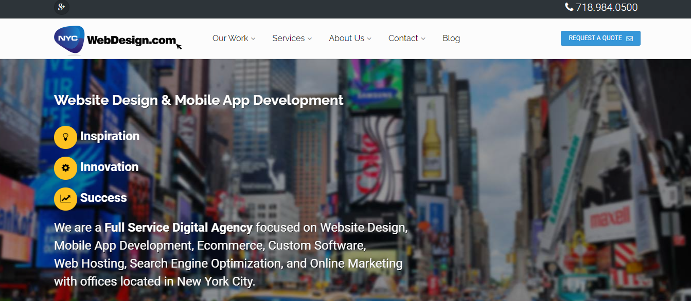 New York Best Web Developers