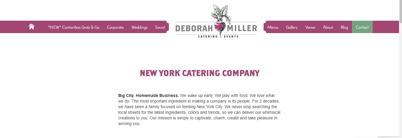 NYC best catering service