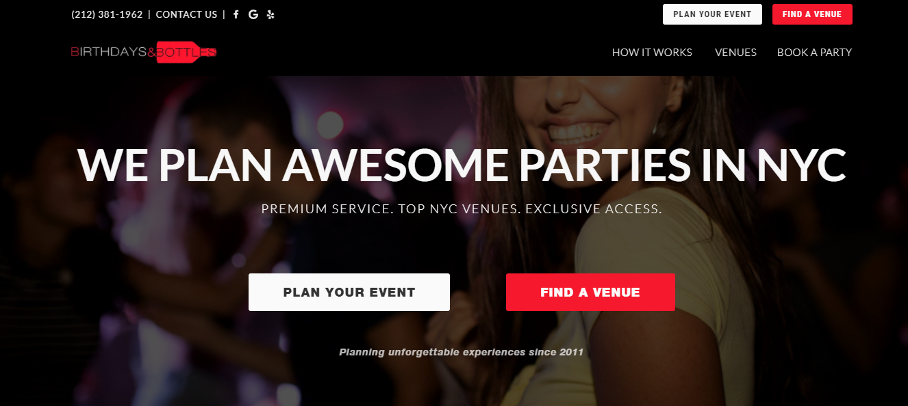 Best Party Planning in NYC