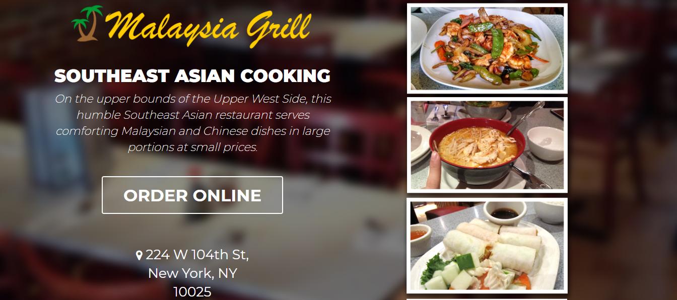 New York Best Malaysian Food