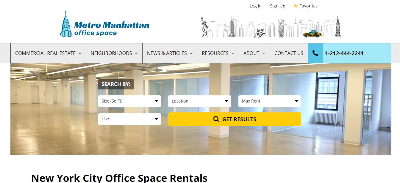 NYC Best Office Rental Space