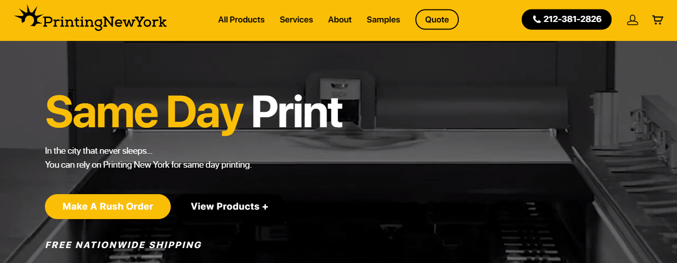 Best Printing Services in New York
