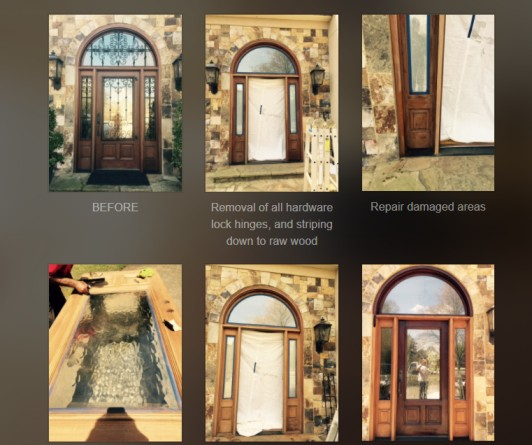 Door Refinishing USA - Door Refinishing Atlanta Georgia