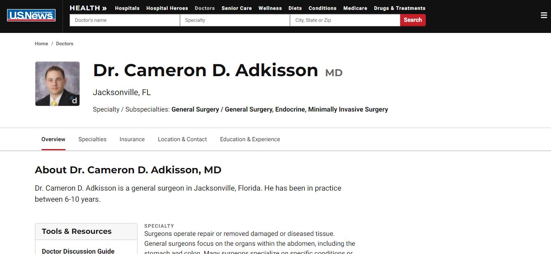 Jacksonville's Best General Surgeons