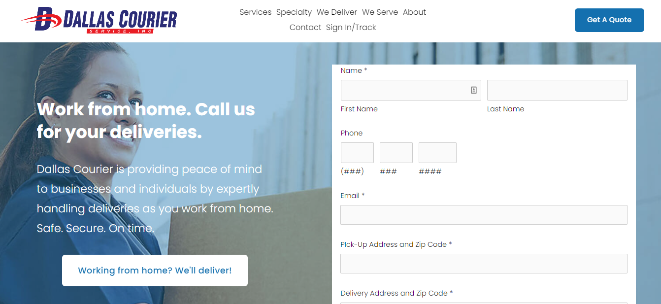 The Best Courier Services in Dallas
