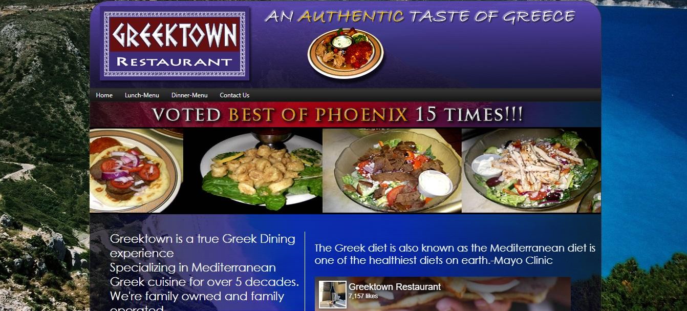 Phoenix's Best Greek Food