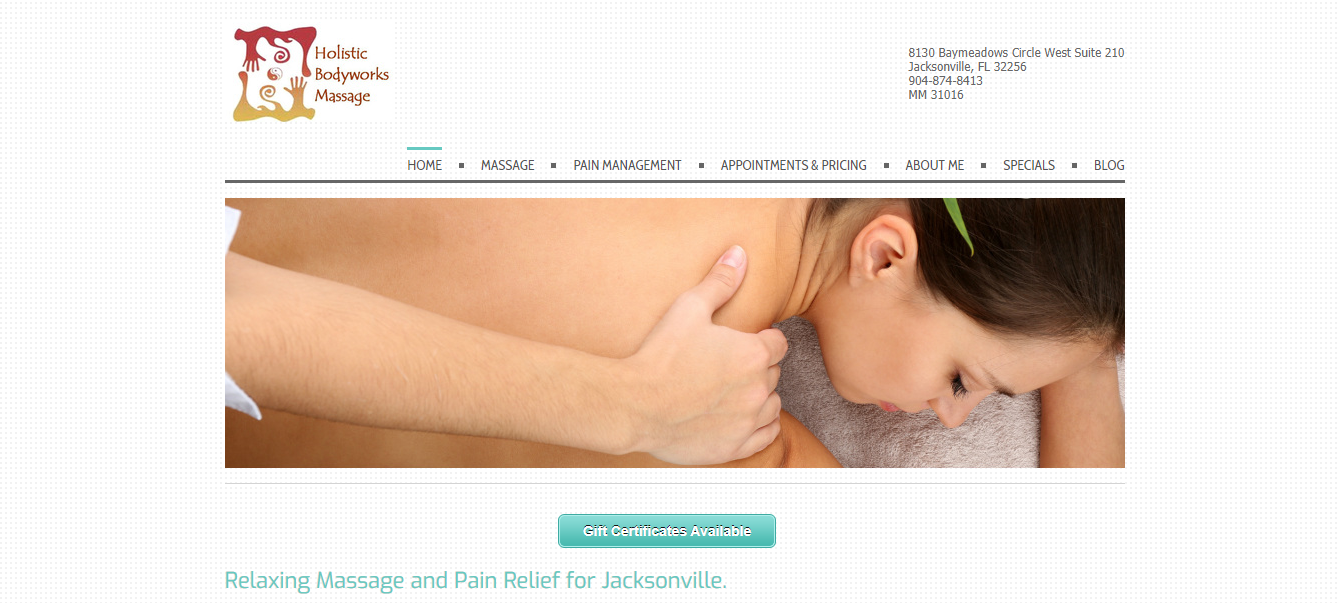 Best Massage Therapy in Jacksonville