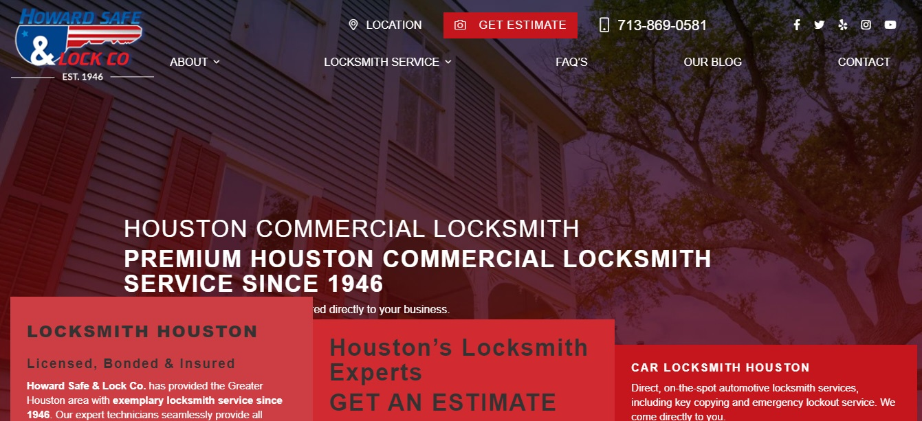 Best Locksmiths in Houston