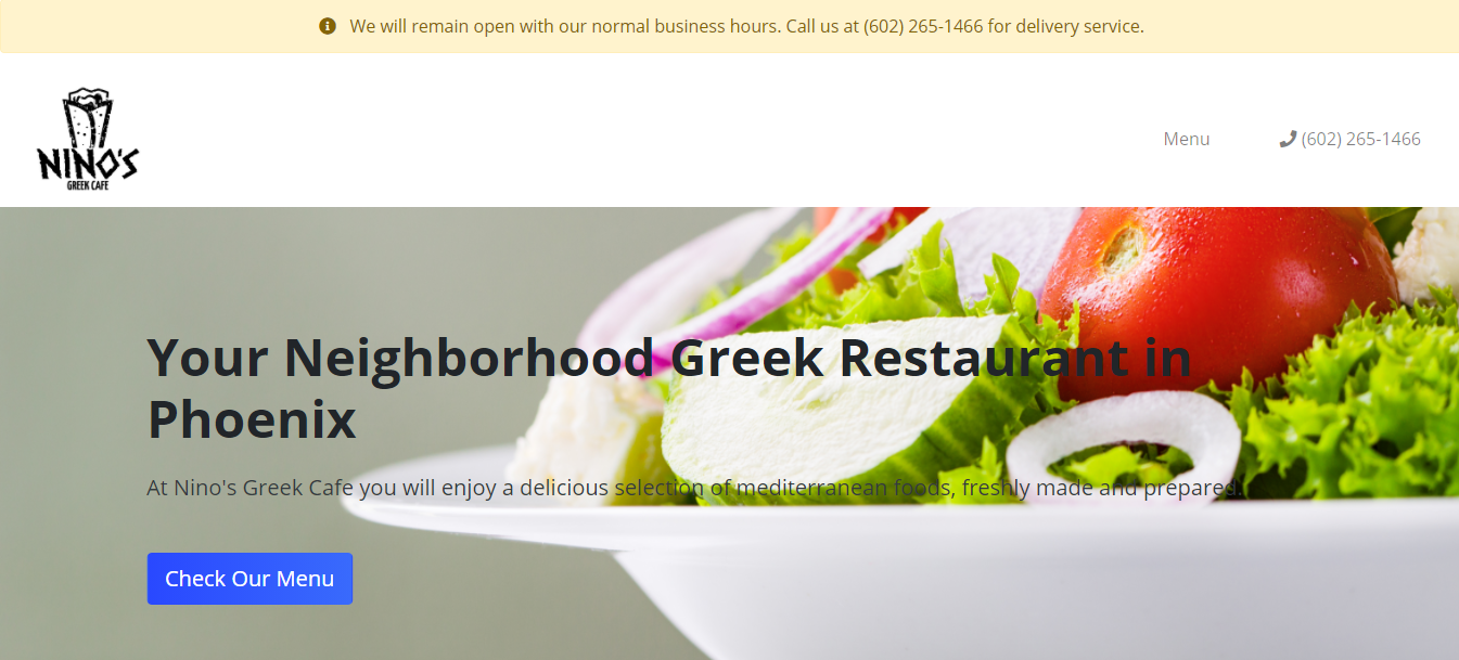Best Greek Food in Phoenix